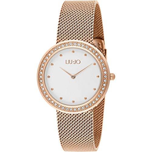 LIUJO Orologio Solo Tempo Donna Luxury Round