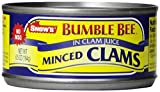 Bumble Bee Snow s Minced Clams in Clam Juice, 6.5 oz