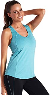 LaSculpte Activewear Running Workout Fitness Shirts Yoga Racerback Sports Tank Tops for Women, 10-16