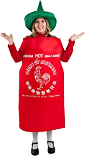 Adult Hot Sauce Costume Standard