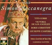 Verdi: Simon Boccanegra by Tito Gobbi