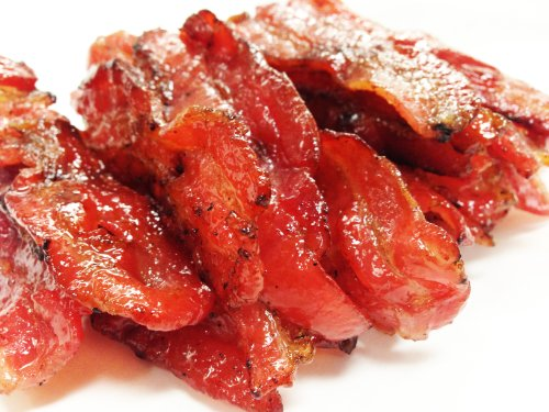 Made to Order Fire-Grilled Asian Bacon Jerky (Original Flavor - 12 Ounce) aka Singapore Bak Kwa - Los Angeles Times 'Handmade Gift' Winner