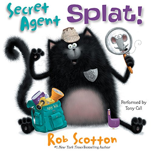 Secret Agent Splat!  cover art