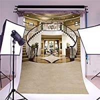 Vinyl Backdrops Castle Stairs 5x7ft Photography Backgrounds Staircase Indoor Photography Backdrop Background Studio Prop