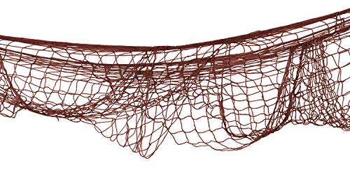 Beistle 50301-A Fischnetz 12er Pack braun