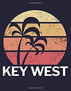 Key West: Blank Line Journal Notebook for Writing and taking Notes in School or at the Office.