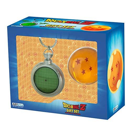 DRAGON BALL Z - Radar Keychain and Dragon Ball Set