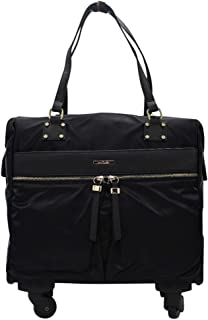 Simply Noelle Jet Setter Roller Bag - Black