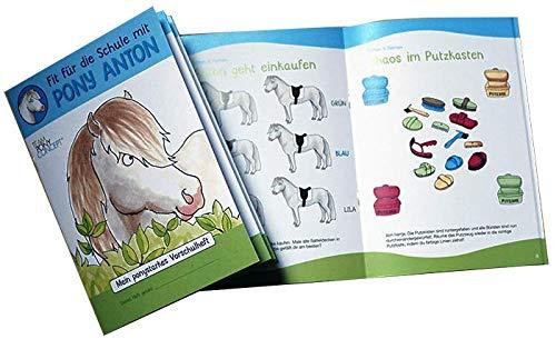 Vorschulheft: Mit dem Pony fit für die Schule