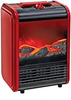 GHDE& Chimenea eléctrica Estufa Virtual Calefactor Radiador Calefacción 850 ó 1500 W Silenciosa Temperatura Ajustable Mando a Distancia