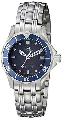 Omega Seamaster Diver - Reloj (Reloj de Pulsera, Masculino, Acero, Azul, Luz metálico, Acero, Luz metálico)