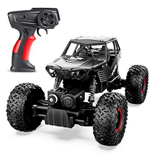 ANTAPRCIS 4WD Ferngesteuertes Auto, 1:14 RC Auto Crawler mit 2 Batterien, 2,4 GHz Ferngesteuerter Geländewagen Off-Road Auto RC Car Buggy Auto für Kinder Jungen Mädchen Erwachsene