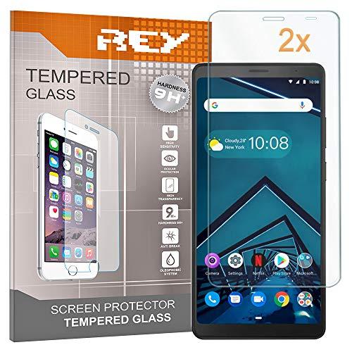 2X Protector de Pantalla para Lenovo Tab V7, Cristal Vidrio Templado Premium, Táblet