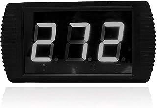 Fitness träningstimer trådlös fjärrkontroll dag nedräkningstimer-upp till 999 dagar väggmonterad installation (färg: Svart...