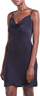 Our Heritage – Women's Sleeveless Mini Cami Dress with Cowl Neck