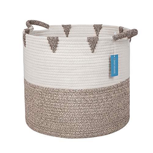 Swish Cotton Rope Storage Baskets b…