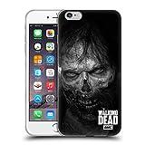 Head Case Designs Oficial AMC The Walking Dead Mirada Fija Logo Carcasa de Gel de Silicona Compatible con Apple iPhone 6 Plus/iPhone 6s Plus