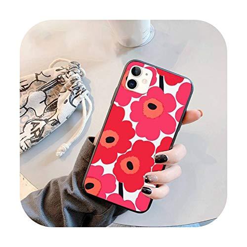 Marimekko - Funda para iPhone 11 12 Pro XS MAX 8 7 6 6S Plus X 5S SE 2020 XR-a7-7plus u 8plus