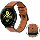 MroTech Bracelet Galaxy Watch Active/Galaxy Watch 42mm Bracelet de Montre en Cuir...