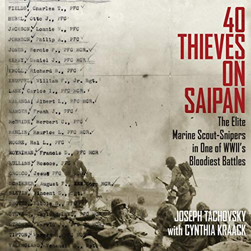 40 Thieves on Saipan audiobook cover art
