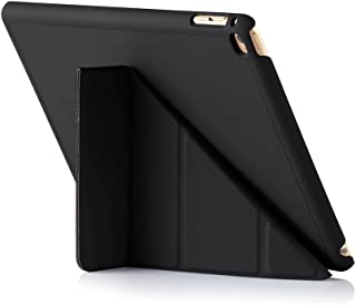 Pipetto Origami iPad Case Air 2 with 5 in 1 Stand & auto Sleep/Wake Function Black