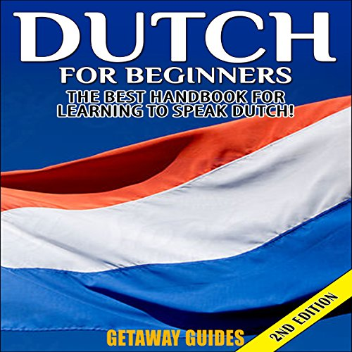 Dutch for Beginners, 2nd Edition audiobook cover art