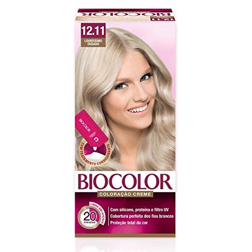 Mini Kit Coloração Creme 12.11 Louríssimo Ousado, Biocolor