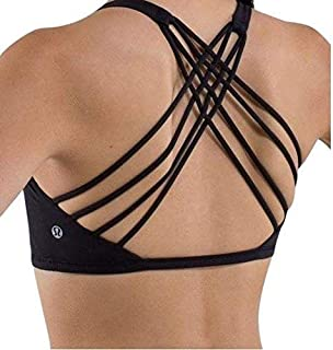 Free to Be Wild Strappy Sports Bra