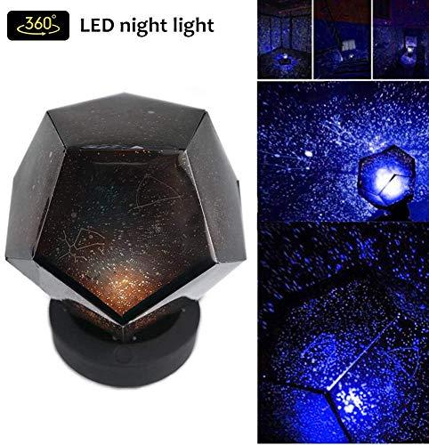 Star Light Projector, Baby Nachtlamp, Projecting Lamp, 360 graden roterende projectielamp, Beste geschenken voor Kids Slaapkamer, Baby Kwekerij, Kid Room Decor