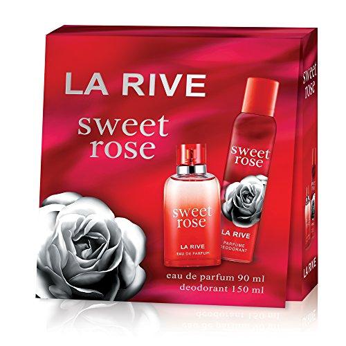 La Rive La rive sweet rose edp 90 ml deodorant 150 ml set