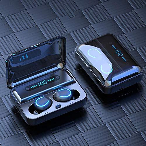 greatdaily Bluetooth Kopfhörer 5.0 Dual-Ear-Chip, Kabellose Kopfhörer HiFi-Hochfrequenztechnik, In Ear Kopfhörer Wasserdicht, Sport Kopfhörer Für Android/Ios Und Andere Systeme