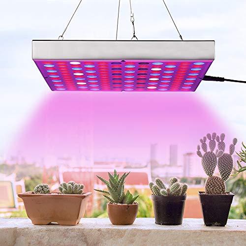 LED Grow Light Full Spectrum Panel Indoor Plants Growing Lights Plant Lamp for Seeding Vegetable Flower (45W)
