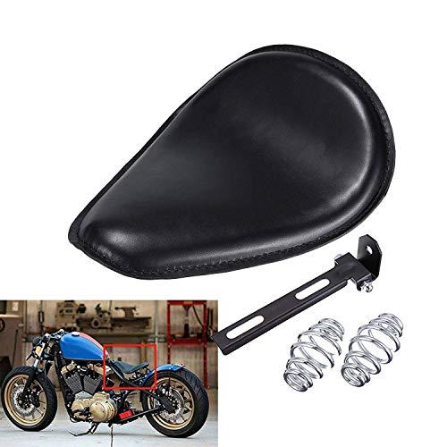 HANEU Kit de montage de support de ressort de siège solo de moto pour Yamaha Sportster Bobber Chopper