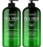 Tea Tree Shampoo and Conditioner Set by Fiora Naturals...