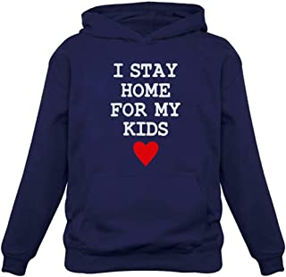 Tstars I Stay Home for My Kids Hoodie
