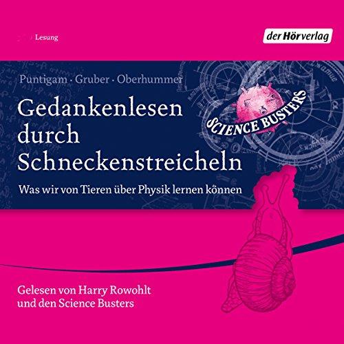 Gedankenlesen durch Schneckenstreicheln audiobook cover art