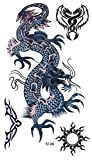 Supperb Temporary Tattoos - Blue Dragon