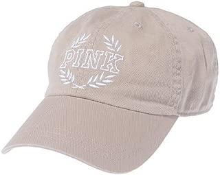 Pink Baseball Hat Cap Adjustable Color Light Beige Tan