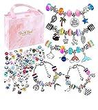 NEWELLYA Charm Bracelet Making Kit, Charms for Jewelry Making, Handmade Craft...