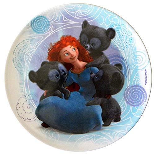 Disney the Brave Ribelle stoviglie Piatto Piano 20 Cm In Plastica