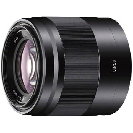 Sony - E 50mm F1.8 OSS Portrait Lens (SEL50F18/B), Black