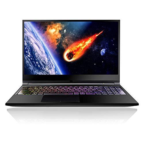 HoMei 8 GB DDR4 RAM, 256 GB SSD, Quad Core 8th Gen Intel Core i5-8300H Gaming Notebook Laptop, 15.6 Inch IPS Full HD, 1 TB HDD, NVIDIA GeForce GTX 1050 Ti 4 GB, Bluetooth, Backlighting Keyboard