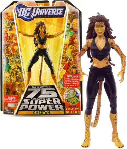 DC UNIVERSE CLASSICS 13 - CHEETAH MODERN BLACK COSTUME - PART 5