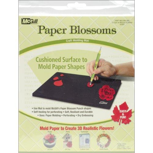 McGill Gummi Papier Blüten Formen mat-8.3-inch X 5.8-inch