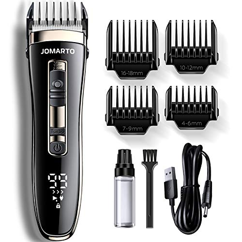 Hair Clippers Home Barber Gift Kit, JOMARTO Cordless Electric Clipper, Hair Trimmer with Cutting...