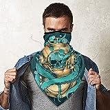 QsuNa Un traje de buceo de pulpo a prueba de viento para la cara bufanda de protección de la boca multi headwear cuello polainas pasamontañas