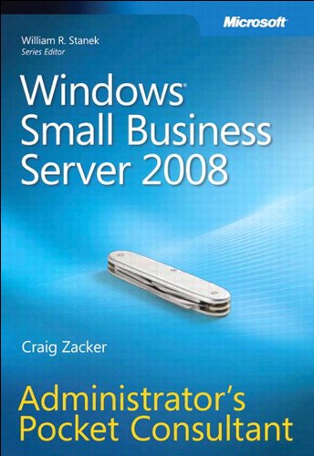 Windows Small Business Server 2008 Administrator's Pocket Consultant (English Edition)