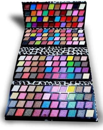 Miss Gold 160 Color Eyeshadow Makeup Kit Palatte-(3160) 3.5 g (Multicolour)