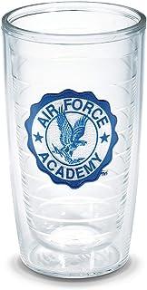 Tervis US Air Force Academy Emblem Individual Tumbler, 16 oz, Clear -