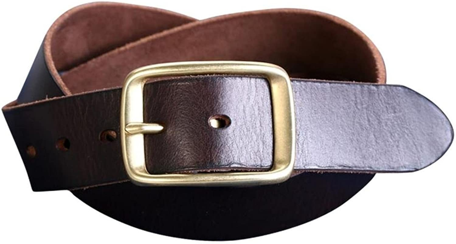DONG Men's new needle belt buckle fashion casual belts